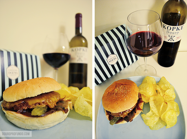 burger red wine pairing