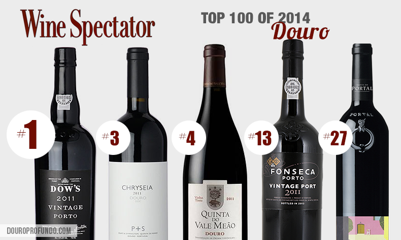 wine spectator top 100 for 2014 douro